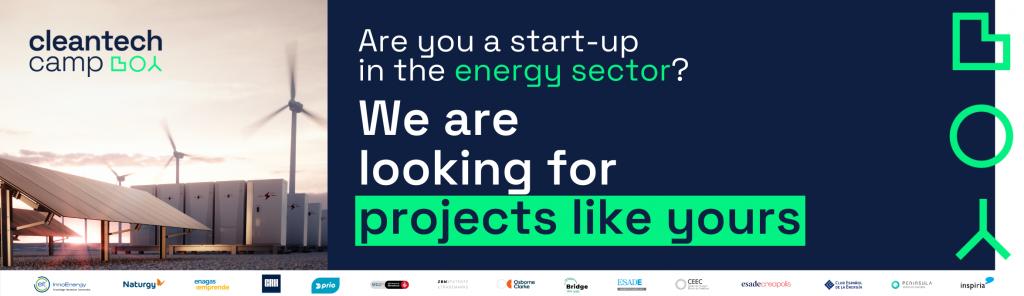 Buscamos proyectos cleantech